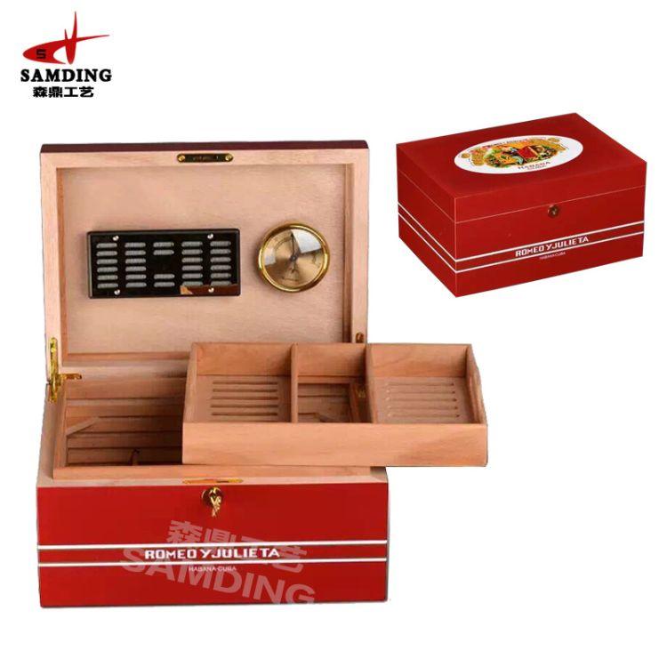雪茄盒定做 木质雪茄盒 Romeo Y Julieta 罗密欧茱莉叶雪茄盒定制