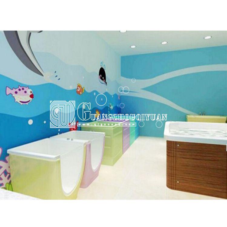 小池婴儿游泳馆婴儿泳池婴童游泳会所婴儿水疗馆设备设施器材