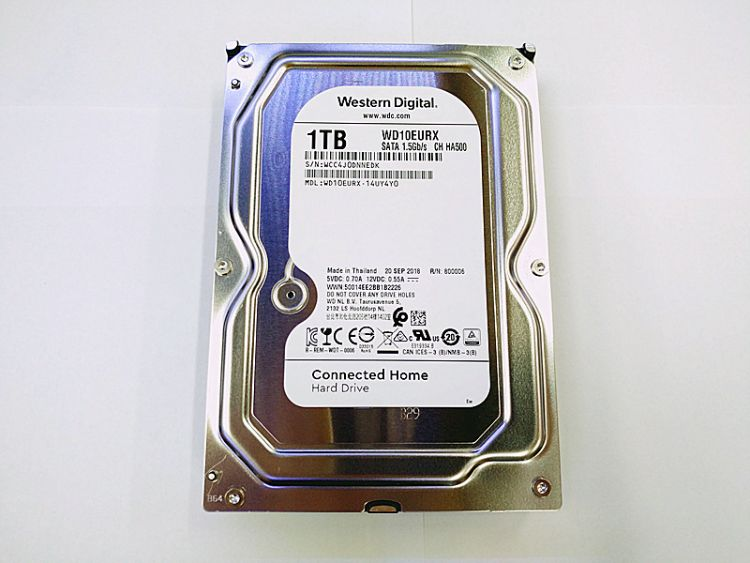 供应全新原装 1T/2T/4T 3.5寸台式电脑硬盘WD20EURX 监控专用硬盘