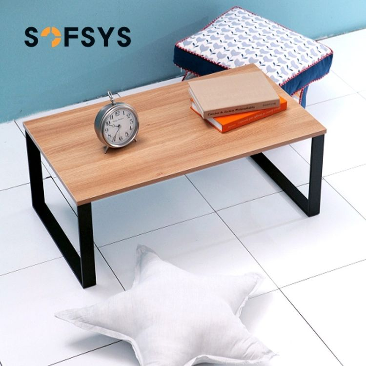 SOFSYS舒福思32CM高塌塌米桌茶几边现代沙发桌简易钢木桌WT009-1