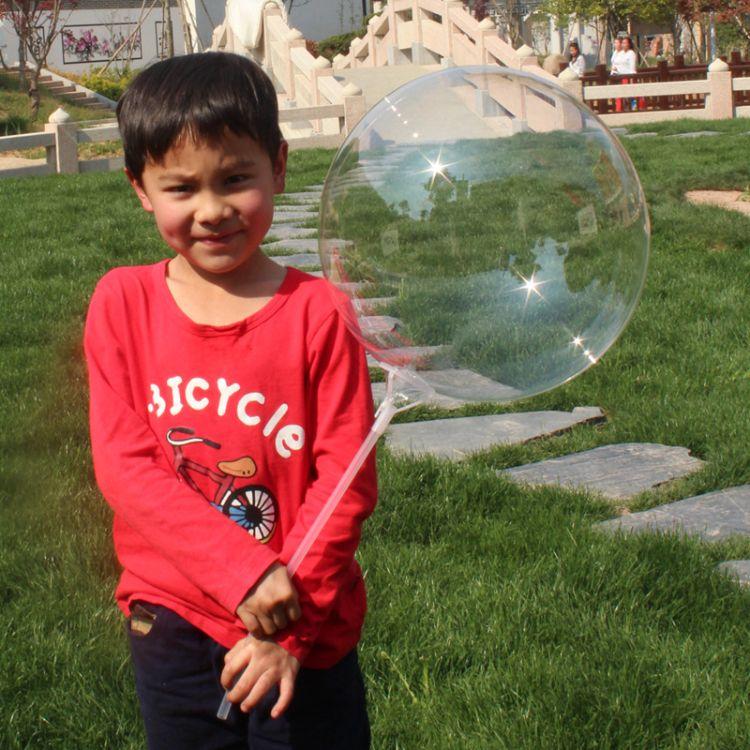 18寸20寸告白网红透明生日婚庆装饰派对气球bobo balloon波波球