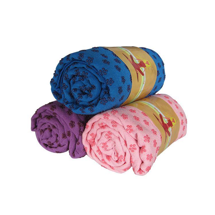 加宽瑜伽铺巾加厚防滑瑜伽毯加长吸汗健身垫瑜珈毯毛巾