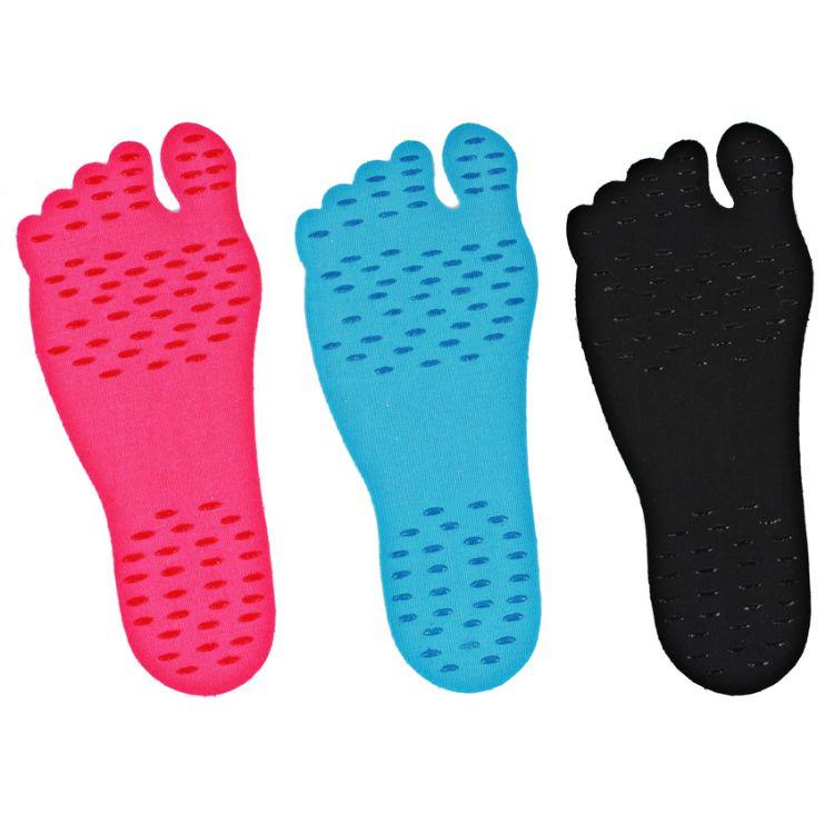 海外爆款Nakefit沙滩隐形防滑鞋垫 纳克fit脚底防护垫隐形鞋