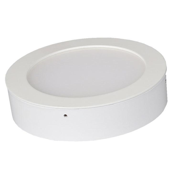 厂家直销 现代简约优质LED面板灯 LED吸顶灯 圆形led天花平板筒灯