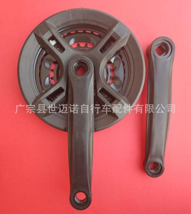 山地车牙盘 大齿盘钢制曲柄自行车配件轮盘3片21 、24速批发