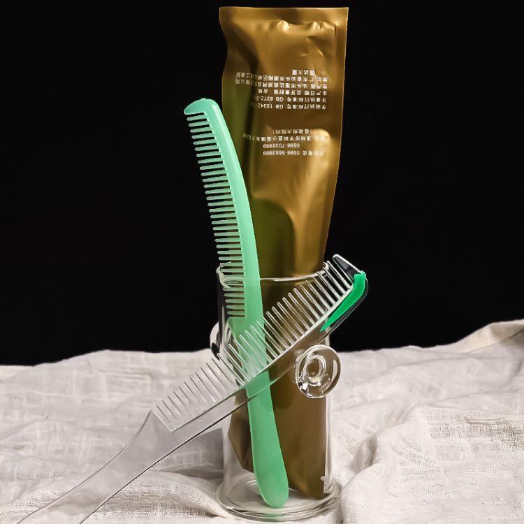 商务专用长条梳 酒店宾馆一次性梳子批发 厂家直销流线型塑料梳子