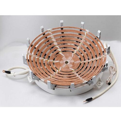 厂家直销电磁炉线圈盘2.5KW,电磁发热线圈,加热盘