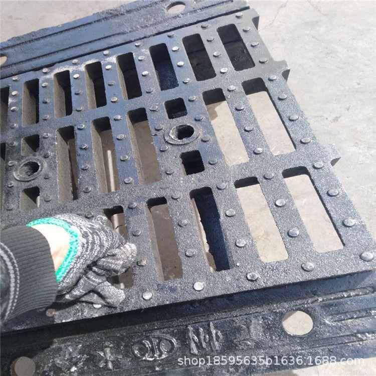 球墨鑄鐵橫截水溝 500*680*190截水溝蓋板 排水溝立體式橫截溝