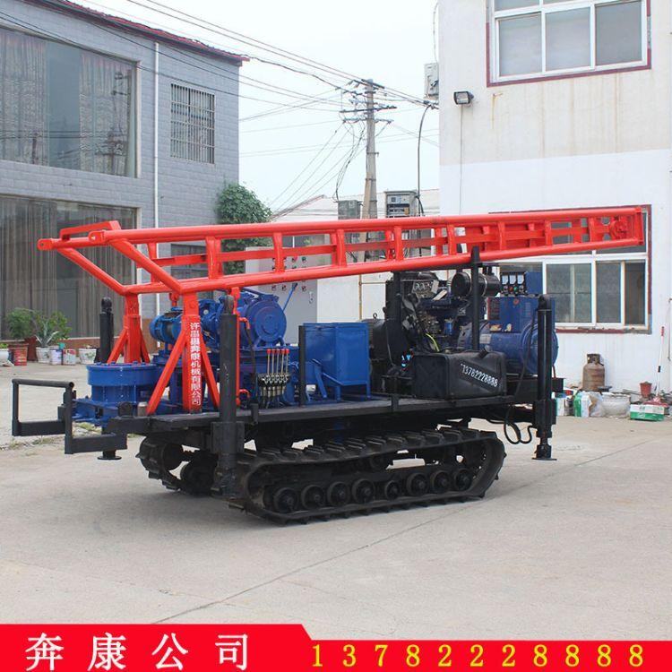 小型快速水井钻机 履带液压打井机岩石快速钻探机设备