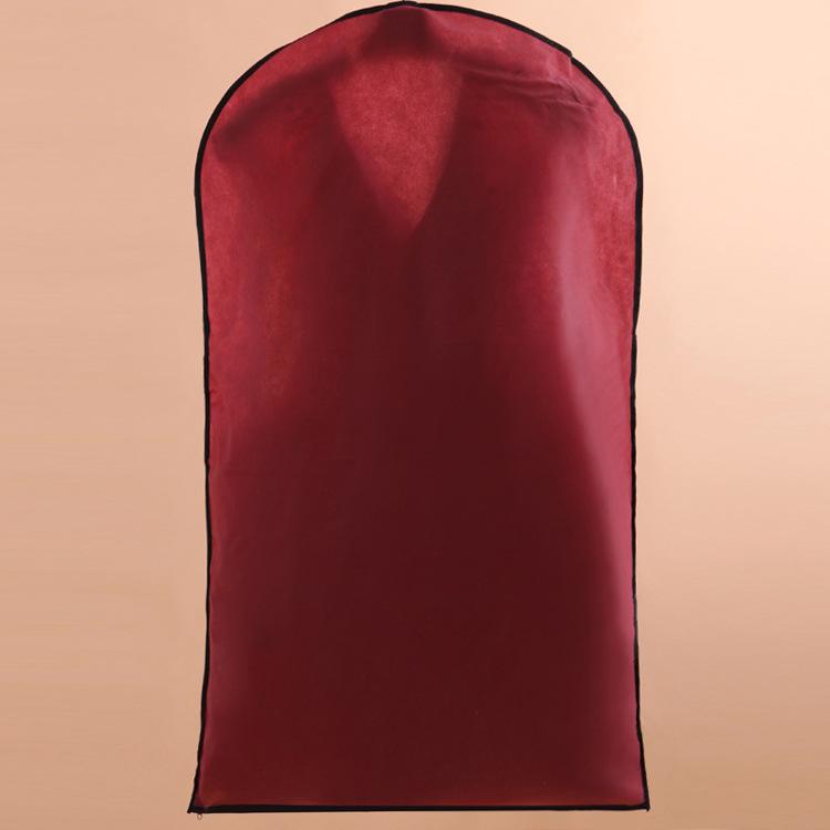 厂家直销新娘短款小礼服防尘罩男士西服西装短款防尘套透明防尘
