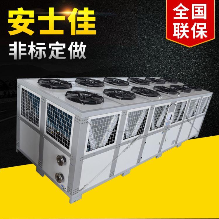 风冷螺杆式冷水机160匹 采用台湾汉钟螺杆压缩机制冷量大能效高