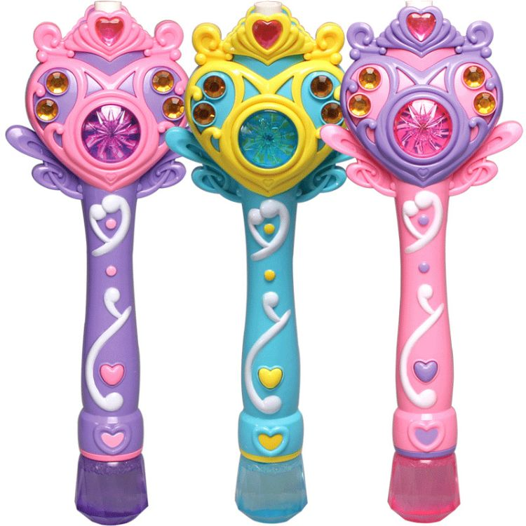 全自动魔法泡泡棒 音乐闪光棒 儿童电动泡泡枪吹泡泡玩具