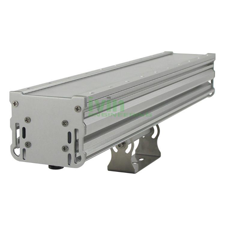 50W IP66防水线性投光灯外壳套件 灯具散热器 LED洗墙灯外壳套件
