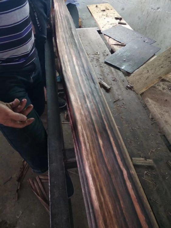 天然印尼黑檀木皮】 苏拉威西乌20丝