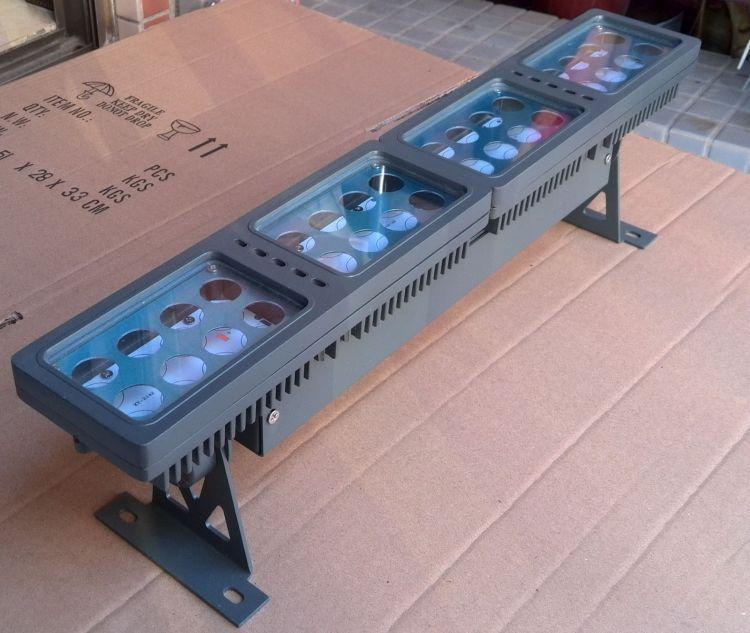 长条投光灯外壳 50W  模组 组合  防水 新款 厚料 洗墙灯外壳