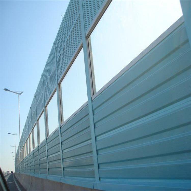 声屏障厂家来图定制隔音墙 施工安装一条龙服务 吸引降噪