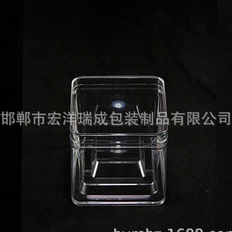 厂家直销pet方盒 蜜饯包装 果干包装 高透明度不易碎 可订制 价优