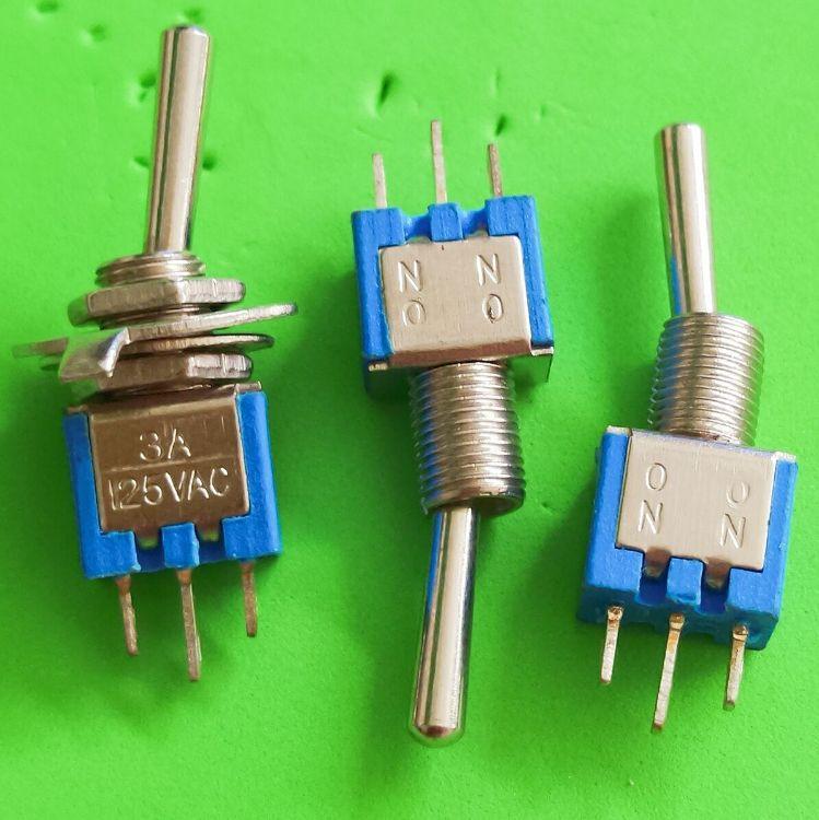 厂家直销钮子开关 SMTS-102两档钮子开关 摇臂开关