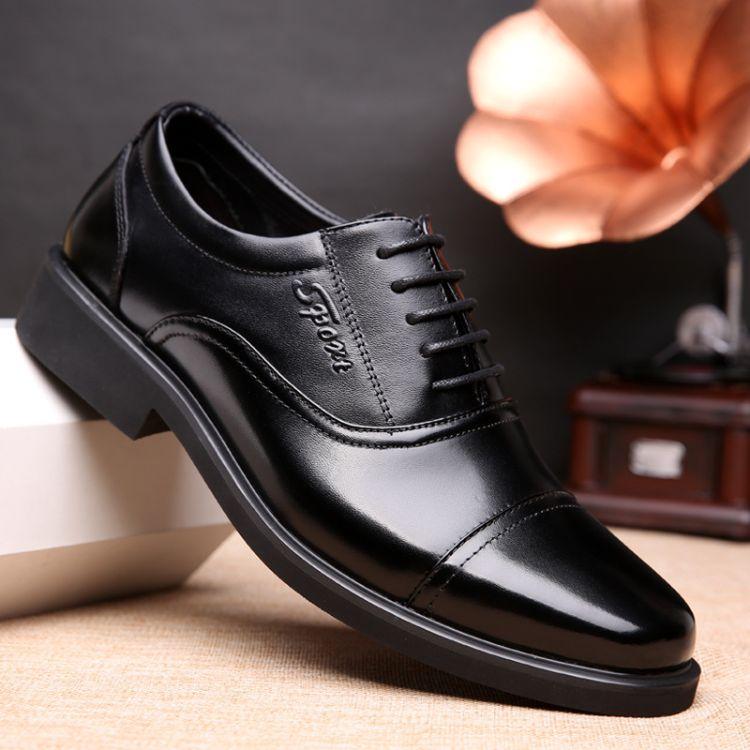 厂家直销新款真皮男士军鞋批发正装商务战士男单鞋英伦皮鞋可代发