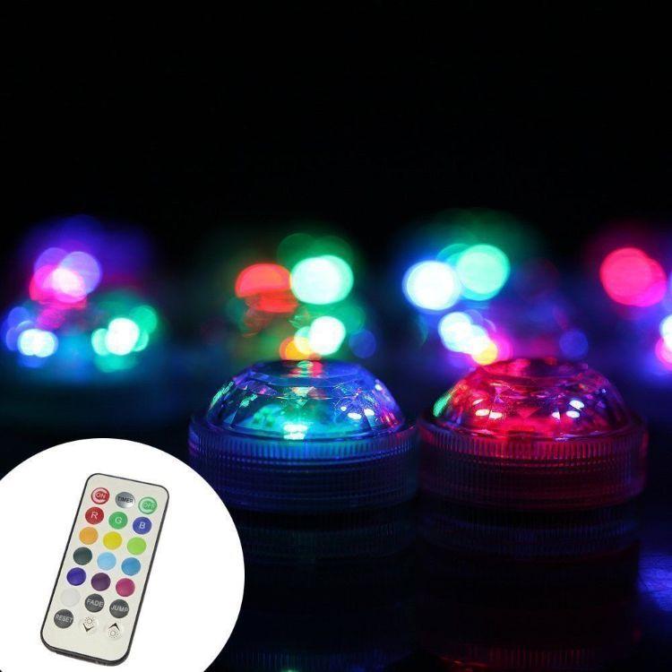 工厂直销 LED遥控潜水灯 鱼缸灯 玩具灯 洗澡灯 景观灯 花瓶灯