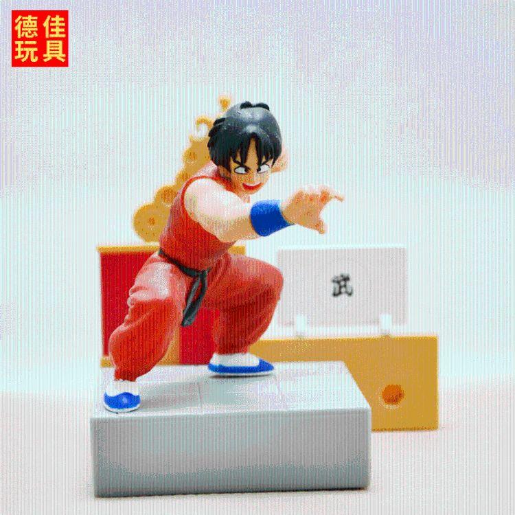 日本动漫周边公仔 七龙珠 关节可动超级赛亚人狼族手办玩偶生产
