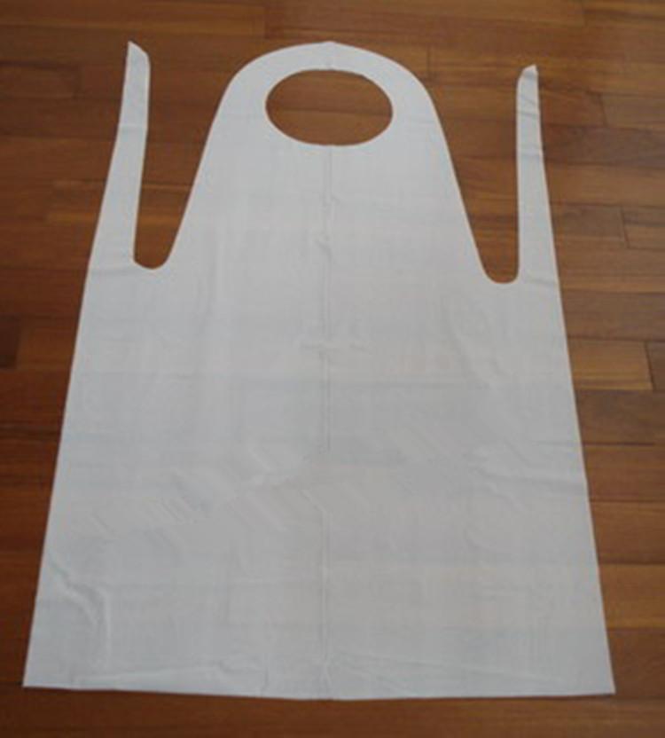 加厚一次性PE围裙 烧烤油防水围裙 厨房工作围裙 美发用品 单个装