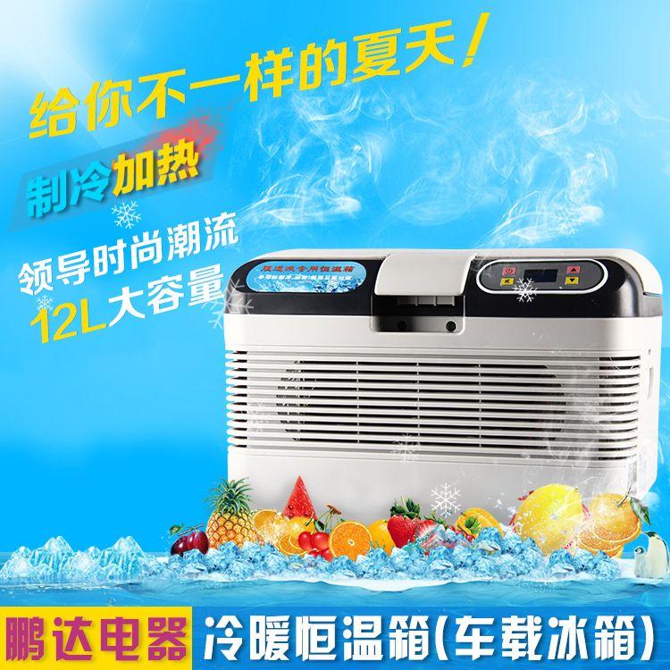 厂家直销 12L车载冰箱 迷你冰箱 冷藏冰箱 恒温箱 家用小冰箱