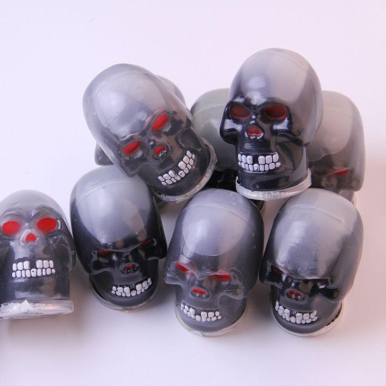 整蛊玩具 沙皮胶 新奇特骷髅头 整人吓人道具 特价 厂家直销