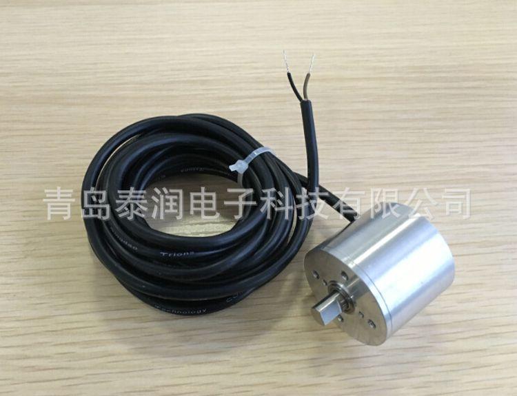 无触点磁敏角度传感器二线制 0-90°输出4-20mA