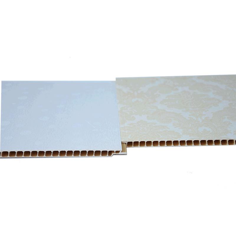 厂家批发石塑集成墙板室内墙面装修用材PVC护墙板
