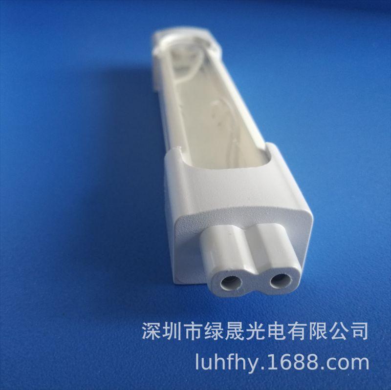 LED漫反射硬灯条全塑套件 LED耐高温PC全塑灯管 硬灯条外壳配件
