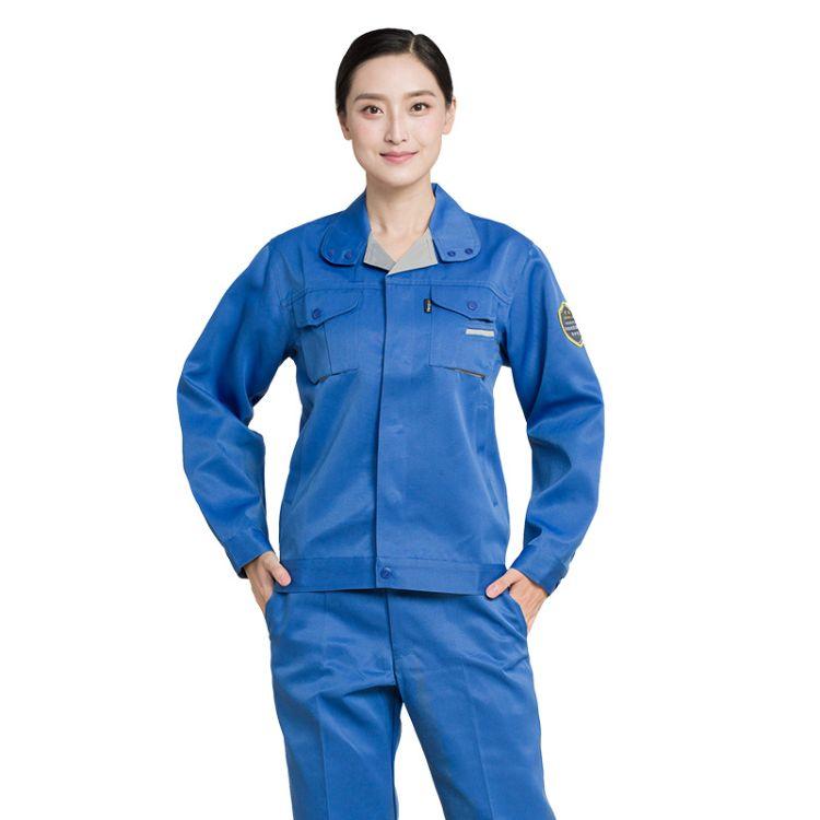 特种劳保防护服 耐酸碱工装 防静电防酸碱 工作服套装批发价格