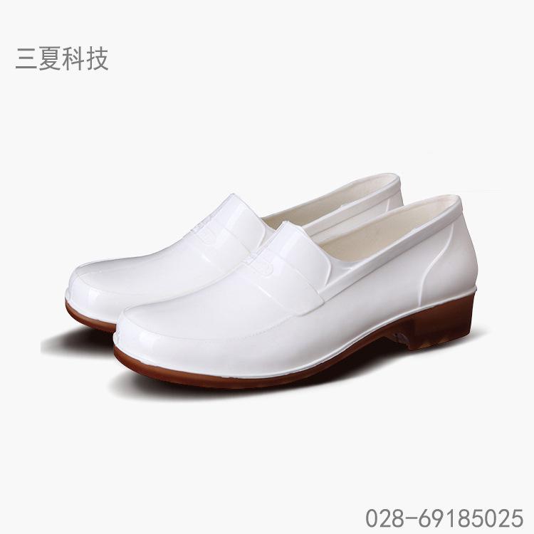 浅口雨鞋防油防滑耐酸碱食品类马口鞋食品车间专用水鞋男女通用