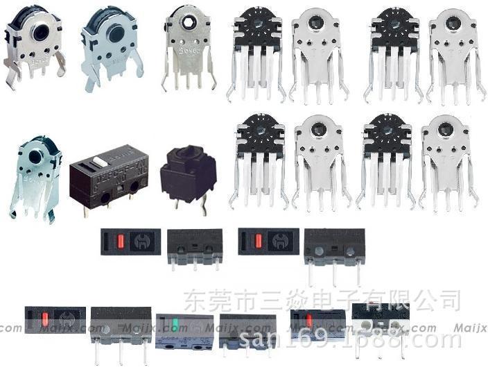 厂家直销 微动开关鼠标编码器 小型鼠标编码器 支持定制