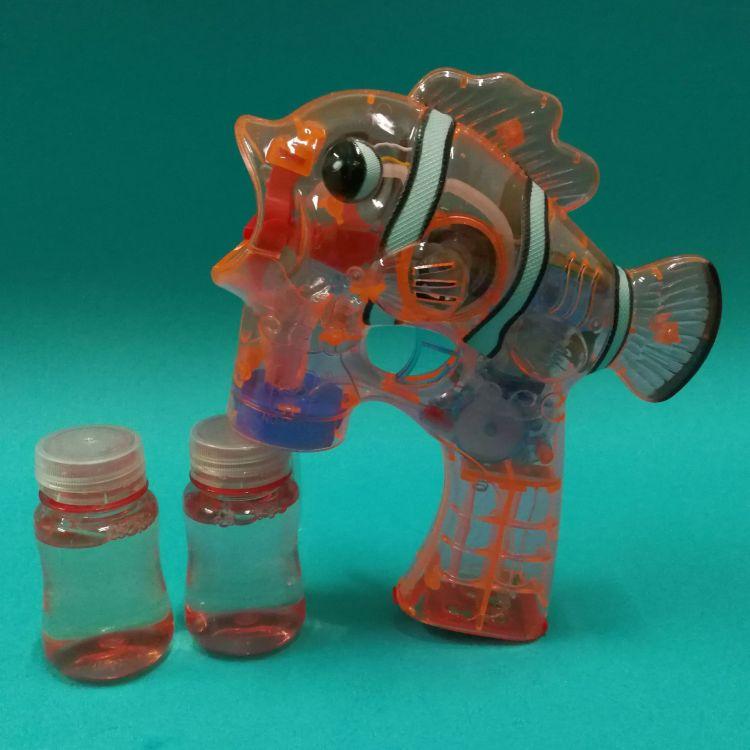 儿童全自动电动泡泡枪 卡通动物吹泡泡机 灯光音乐吹泡泡玩具