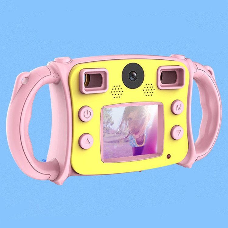 跨境新款高清双镜头防摔儿童数码相机多功能益智迷你儿童数码相机