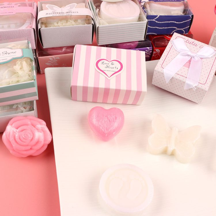 厂家直销创意迷你小香皂 礼盒包装定制赠品抽奖品精油肥皂手工皂