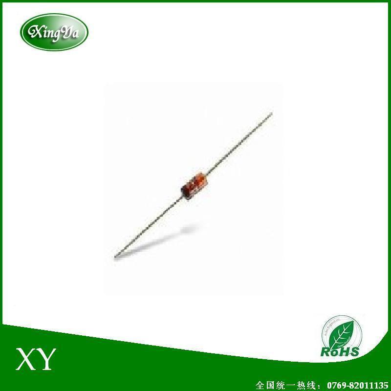XY热销产品双向触发二极管DB3直插DO-35封装品优价实