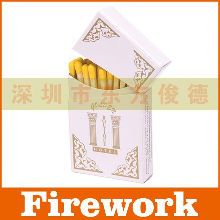 供应出口欧美 烟盒式香烟火柴 雪茄火柴(可定制印刷)烟盒形状