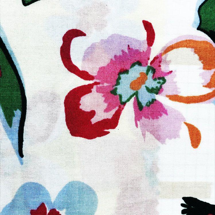 现货供应纯棉高支高密府绸印花衬衫衬衣布料 60*60 全棉活性印花