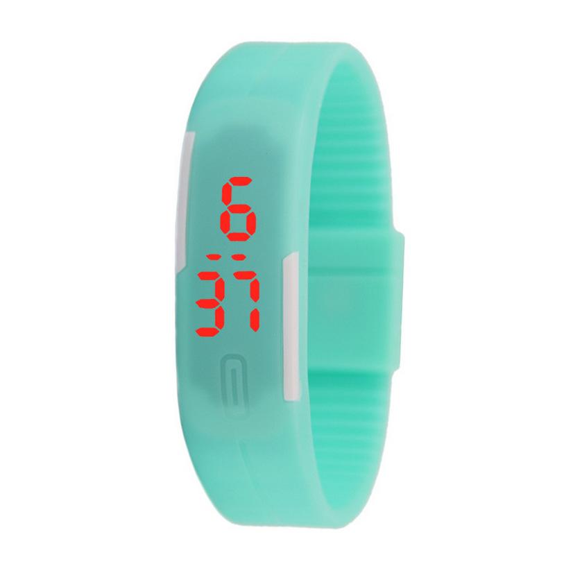 厂家热卖触屏硅胶LED手环表个性防水情侣学生触屏手表外贸爆款