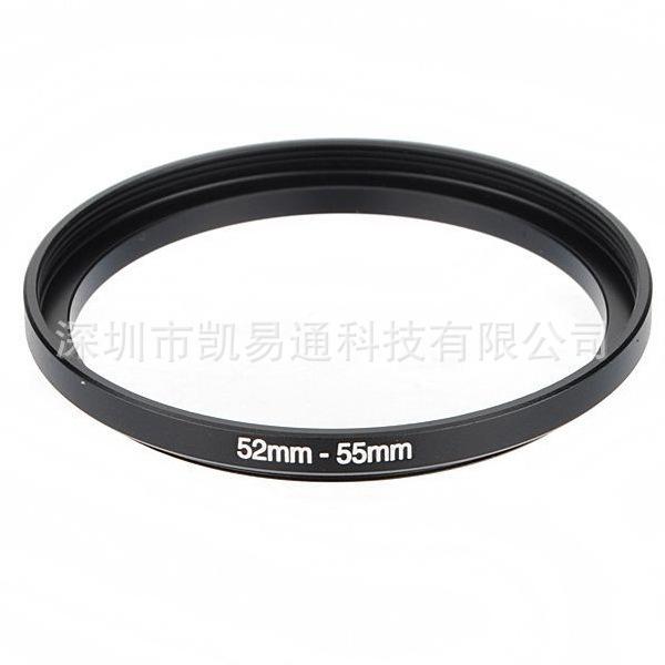 批发单反相机转接环52-55mm 顺接环 滤镜转接环