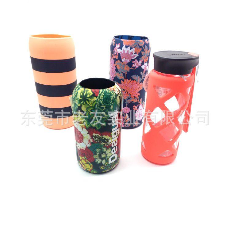 热销环保优质硅胶杯套水杯套保温杯套硅胶瓶套可定制