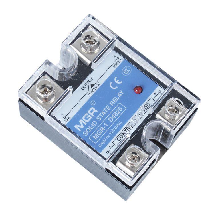 上海稳谷 直销 MGR-1 D4825 固态继电器 单相交流固态继电器