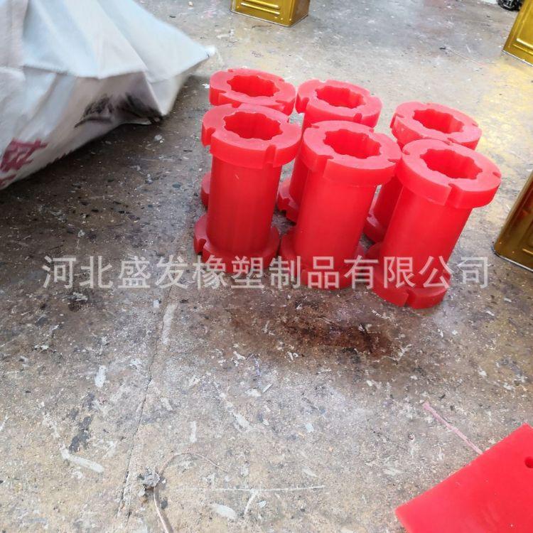 盛发厂家生产聚氨酯刮刀刮板包胶件浇注聚氨酯件减震垫皮带输送带清扫器
