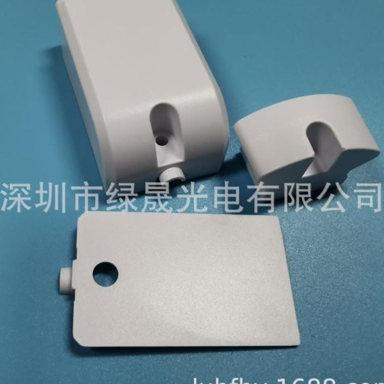 厂家led低压冷柜灯堵头 单色双色LED冰柜灯灯头 定制开模