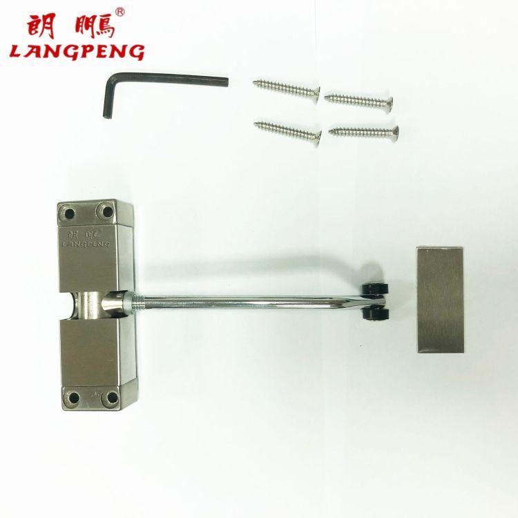 家用合页闭门器纱窗门自动关回位器免开槽弹簧门弓缓冲简易闭合器