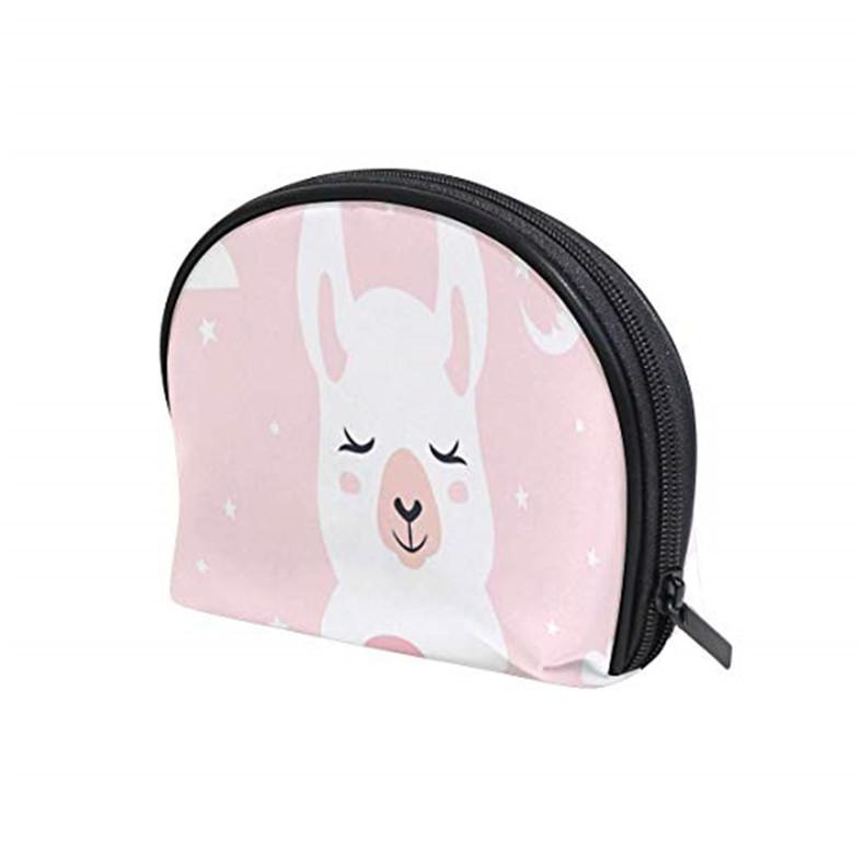新款PU洗漱包女士彩妆包便携旅行卡通化妆包防水洗漱用品收纳包