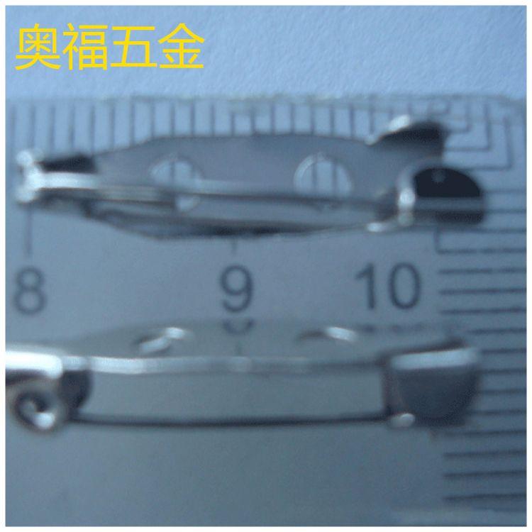 厂家生产 2.5CM迷你小别针长胸针 儿童安全简针胸花别针
