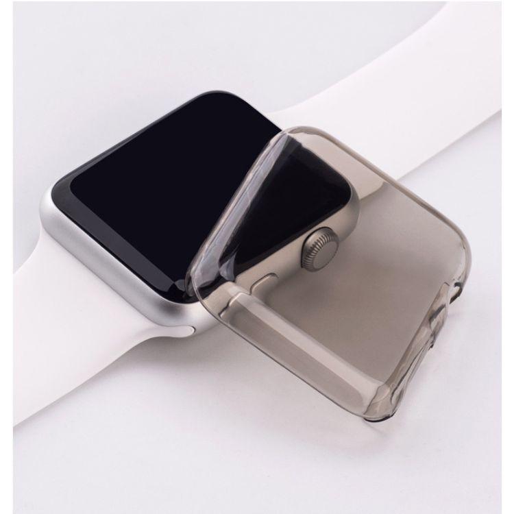 适用于苹果手表一、二代保护壳 PC透明保护套